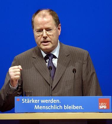 Politiker Steinbrück: Das Rennen bleibt offen