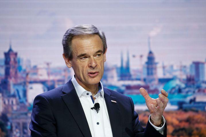 Bosch-Konzernchef Volkmar Denner