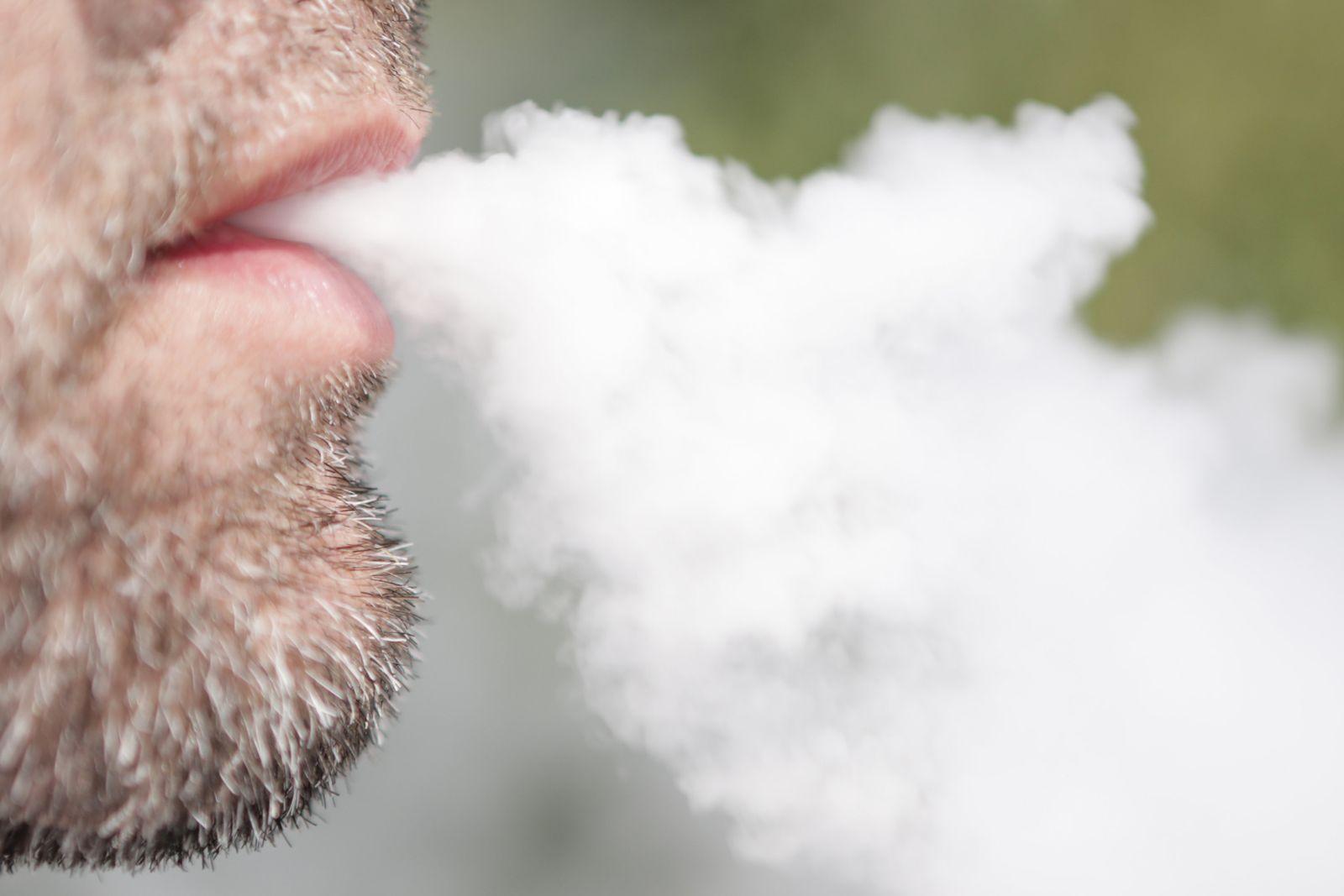 E-Zigarette-Gebrauch