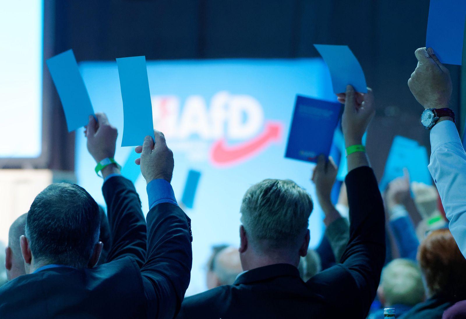 Landesparteitag AfD Nordrhein-Westfalen