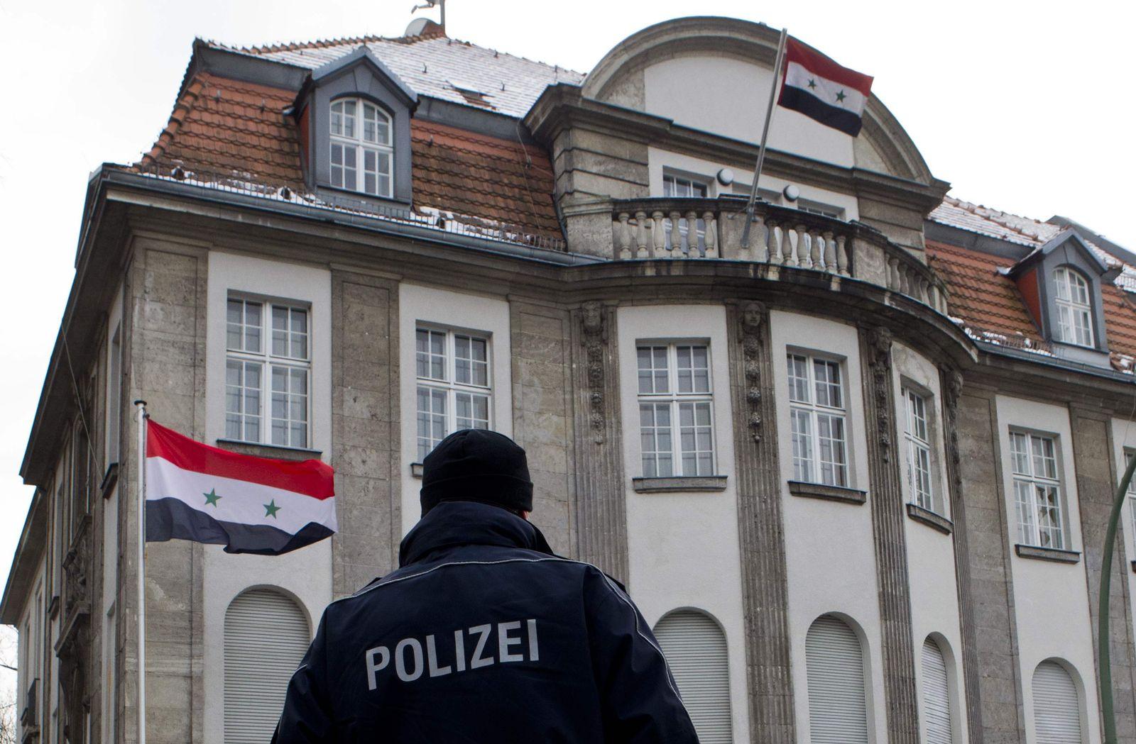 Berlin/ Syrische Botschaft