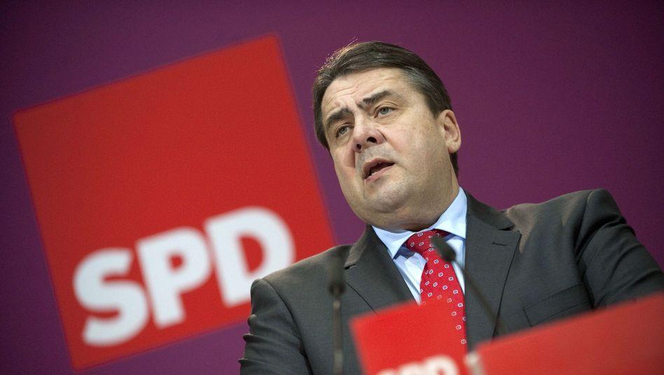 SPD-Chef Gabriel: Erst die Partei, dann der Kandidat
