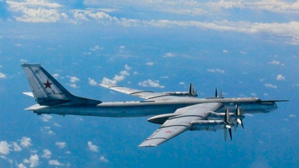 Test für die Nato-Luftabwehr: Russische Bomber über der Nordsee