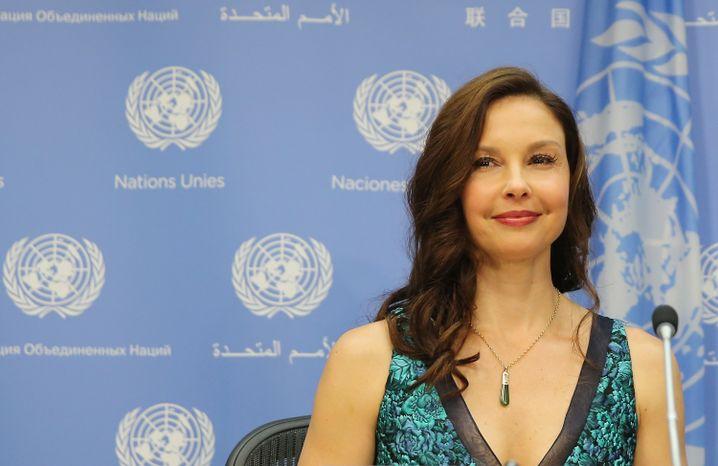 Ashley Judd 2016 in New York: Übergriffigkeit ist nie ein Spiel