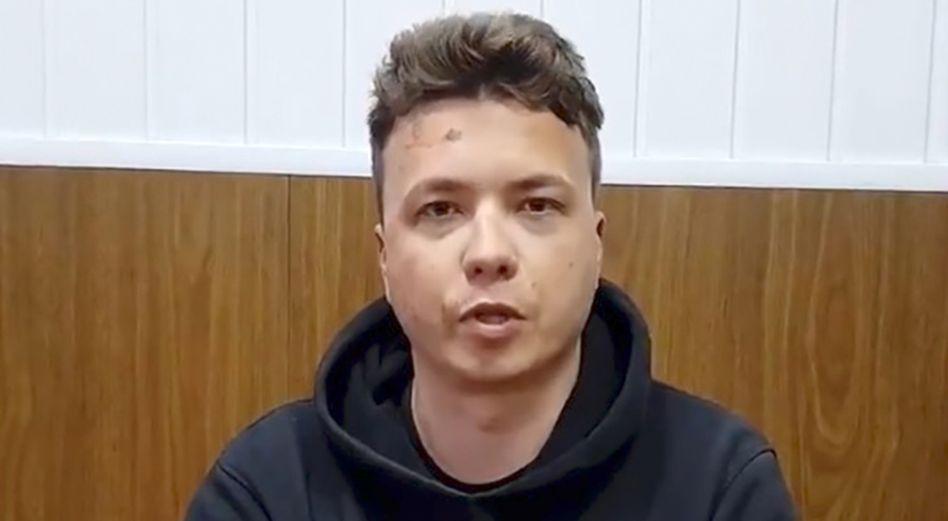 Roman Protassewitsch: In Minsk in Haft