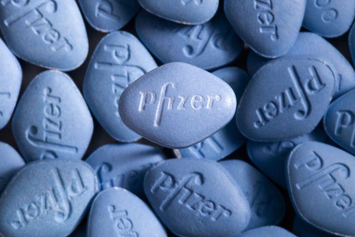 Viagra-Pillen von Pfizer