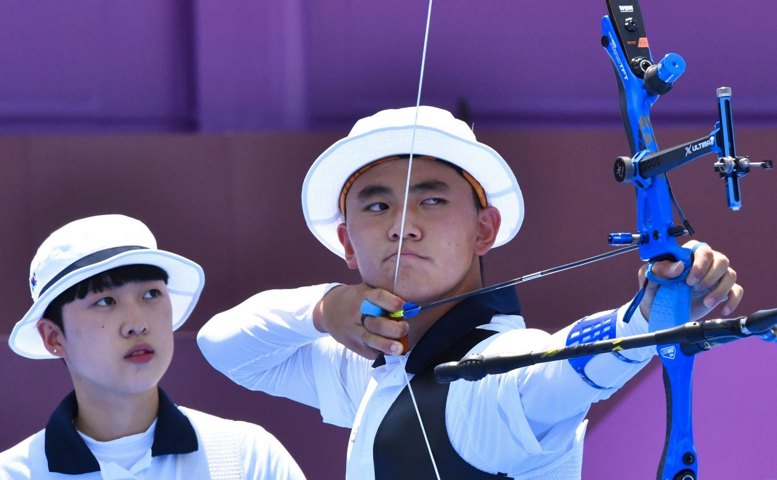 Archery - Mixed Team - 1/8 Finals