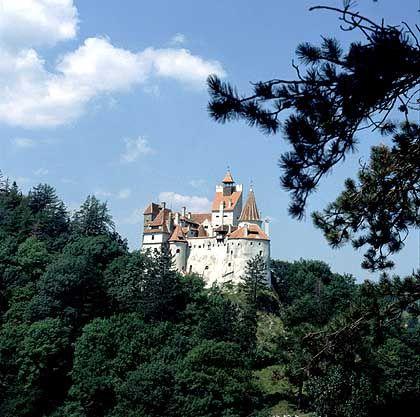 Schloss Brann bei Brasov: Das Vorbild für die Romanfigur Graf Dracula soll hier gelebt haben