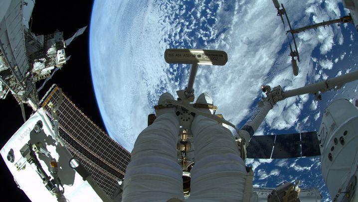 Alexander Gerst: Meisterleistung beim Spacewalk