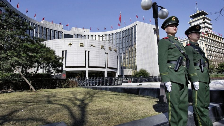 Chinesische Zentralbank in Peking