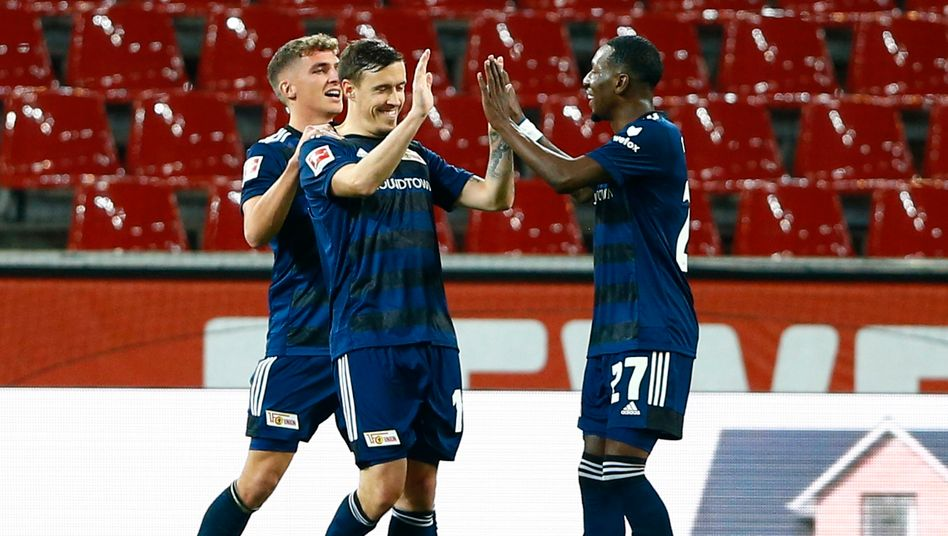Union Berlin beschloss den achten Spieltag mit einem Sieg