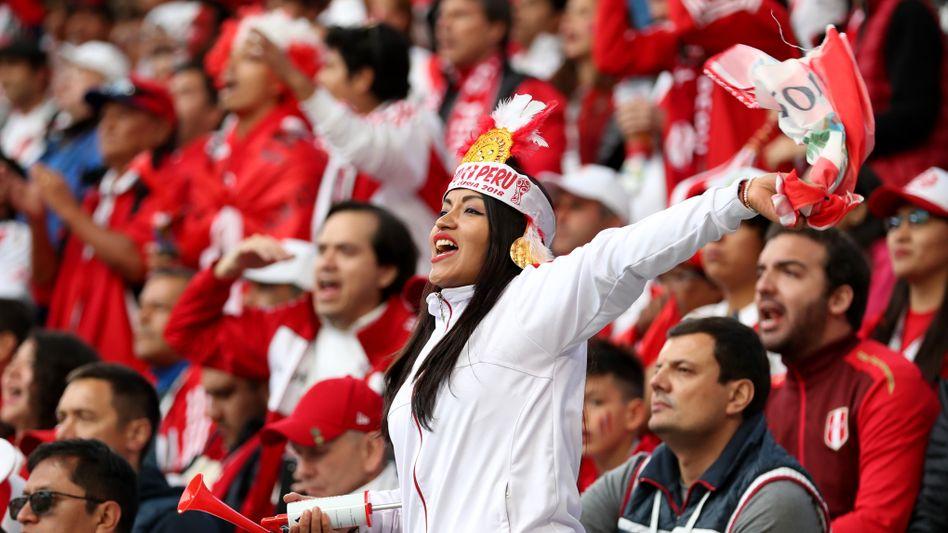 Peruanische Fans