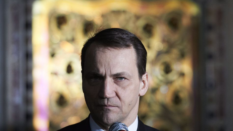 "Polish Foreign Minister Radoslaw Sikorski: ""The Ukrainians are our neighbors. They are fighting for the same things we did back in 1989."""