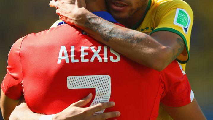 Brasiliens Elfmetersieg gegen Chile: Nerven gezeigt und gewonnen