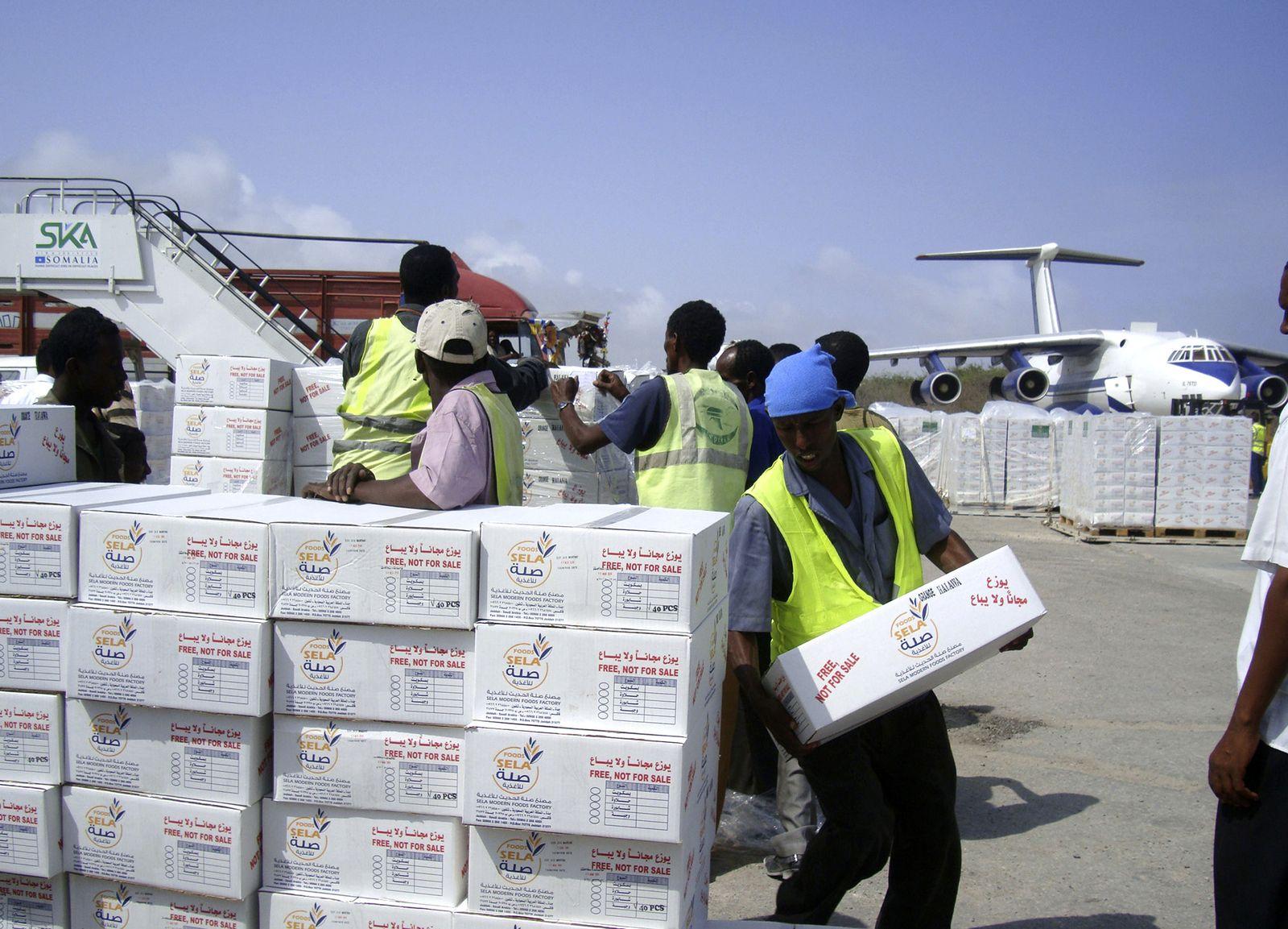 Somalia / Hungerbot / Hilfsgüter