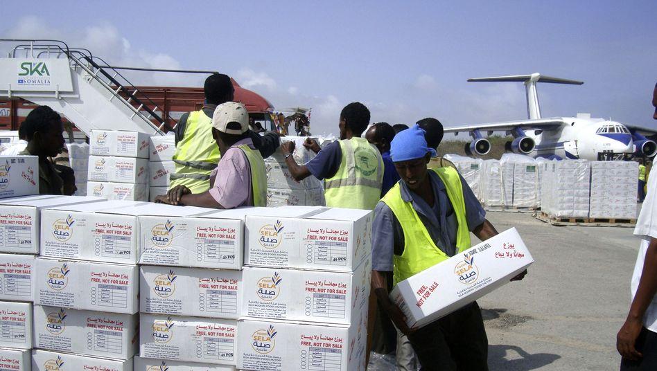 """Hilfslieferung für Somalia: """"Eure Finanzkrise ist unsere Chance"""""""
