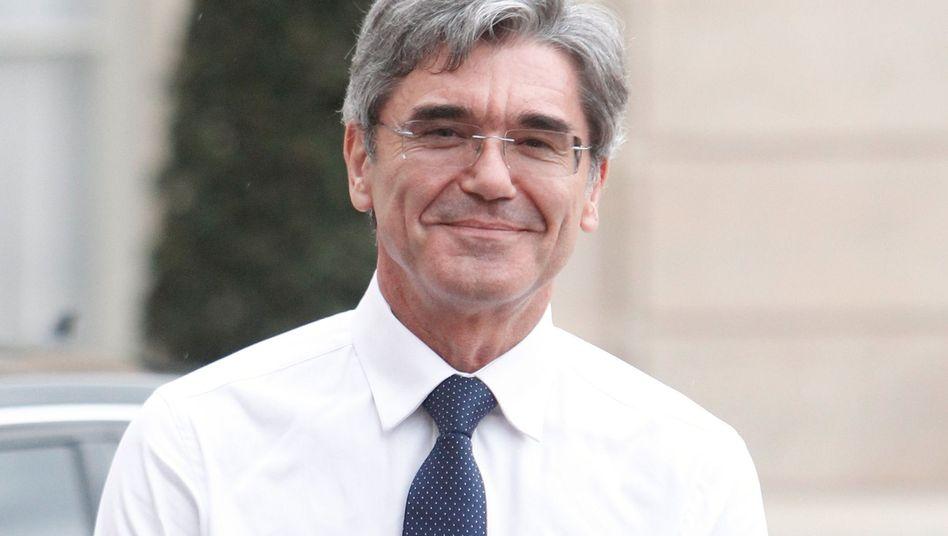 Siemens-Chef Joe Kaeser: Umbau des Konzerns
