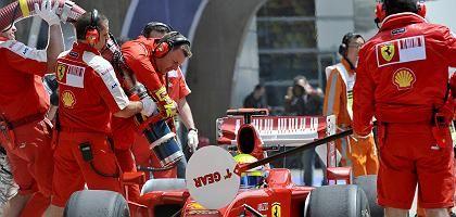 """Betankung des Massa-Autos während des Trainings: """"Alle haben Schuld"""""""