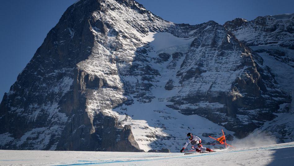 Skirennen in Wengen (Archivbild aus dem vergangenen Jahr)