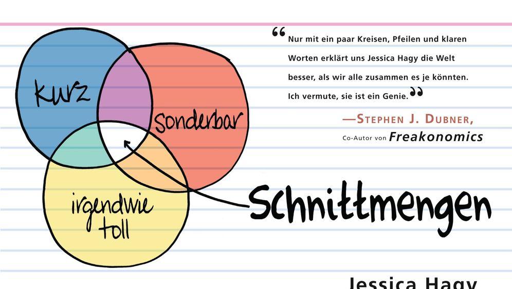 """Grafik-Buch """"Schnittmengen"""": Mama, Papa, Briefträger"""