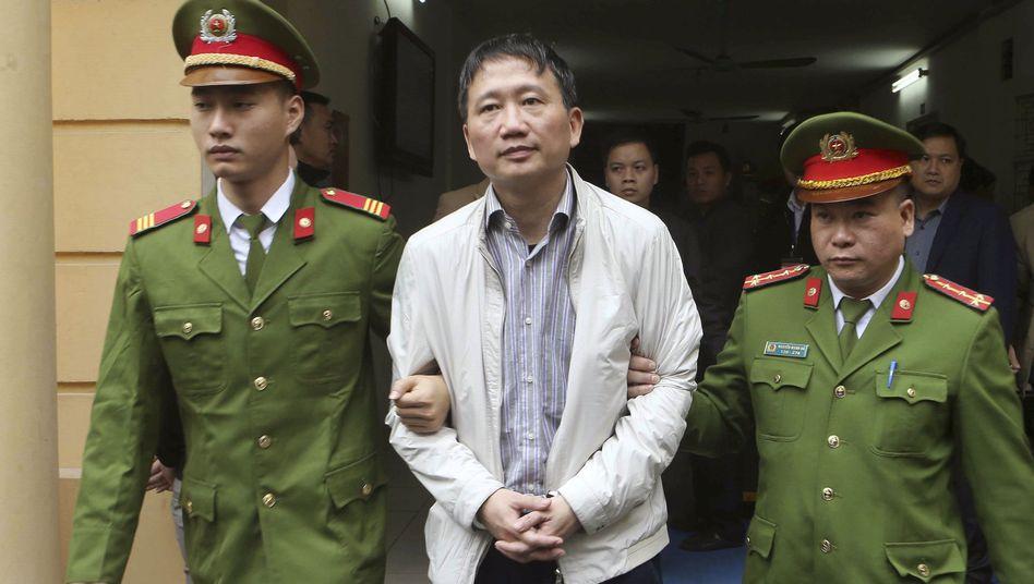 Entführter Geschäftsmann Trinh Xuan Thanh