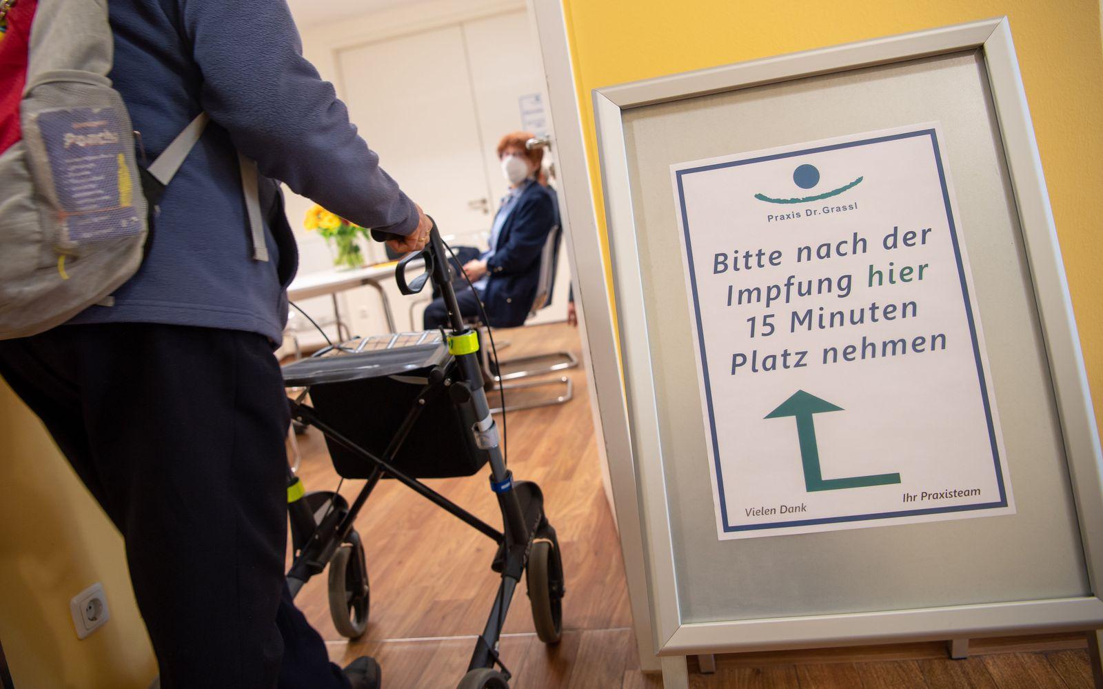 Coronavirus - Start Impfung in Hausarztpraxen