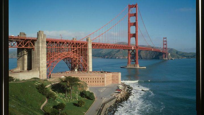 Golden Gate Bridge: Über Beben Schwingen