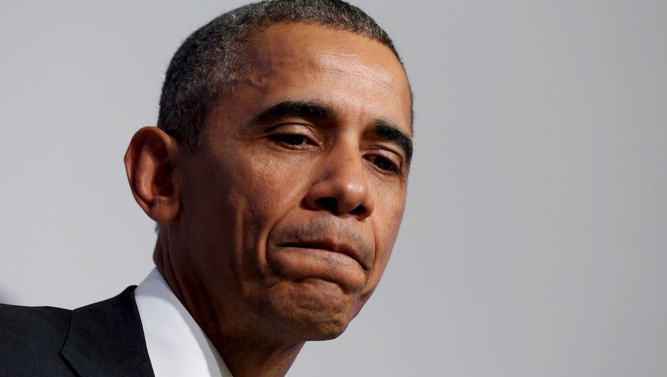 """US-Präsident Obama: """"Ich werde die Spielchen nicht mitmachen"""""""