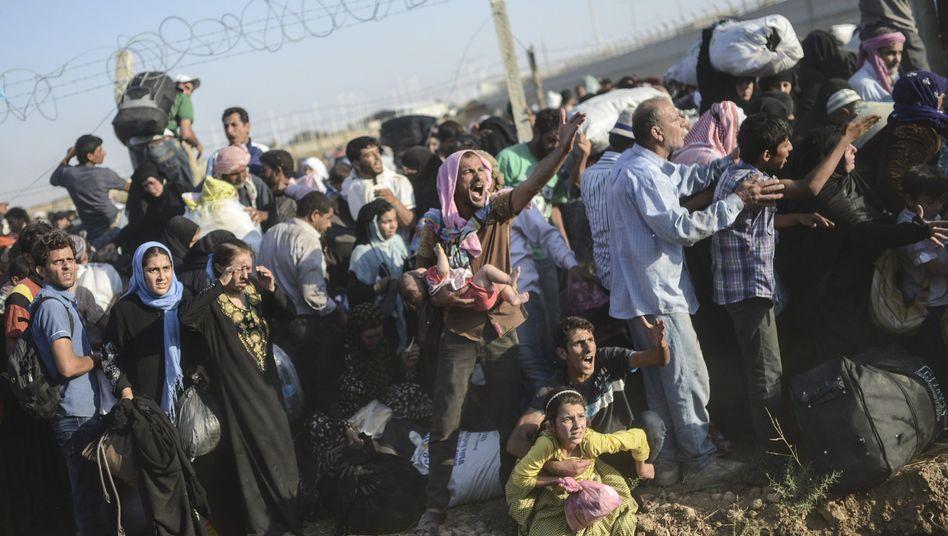 Syrische Flüchtlinge an der Grenze zur Türkei: Amnesty fordert mehr Einsatz