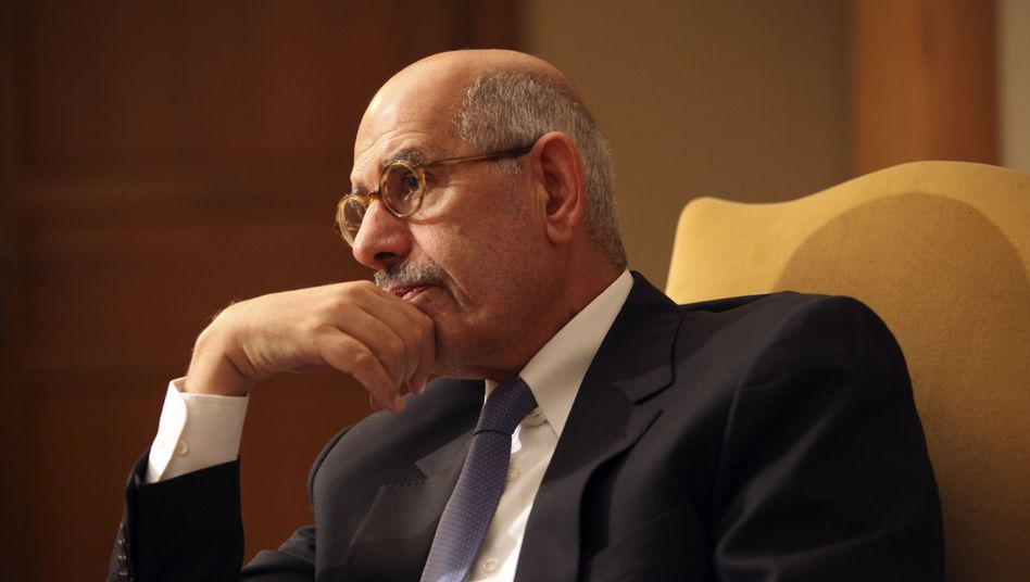 Democracy advocate Mohamed ElBaradei, former head of the International Atomic Energy Agency, is critical of Mohammed Morsi.