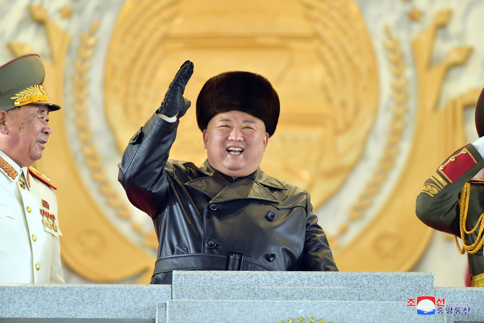 Military parade in Pyongyang, Korea - 14 Jan 2021