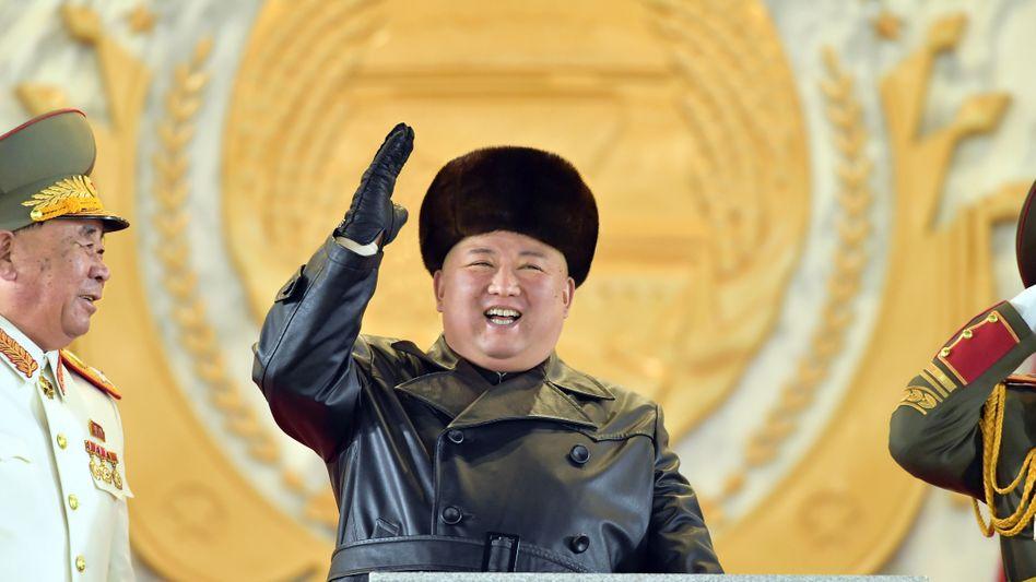 Versteht keinen Spaß, auch wenn er lacht: Kim Jong Un