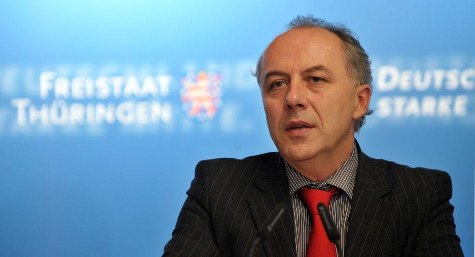 """Thüringens Wirtschaftsminister Machnig (SPD): """"Demografischer Wandel ist eine Tatsache"""""""