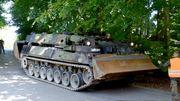 Ein Panzer im Keller macht Probleme