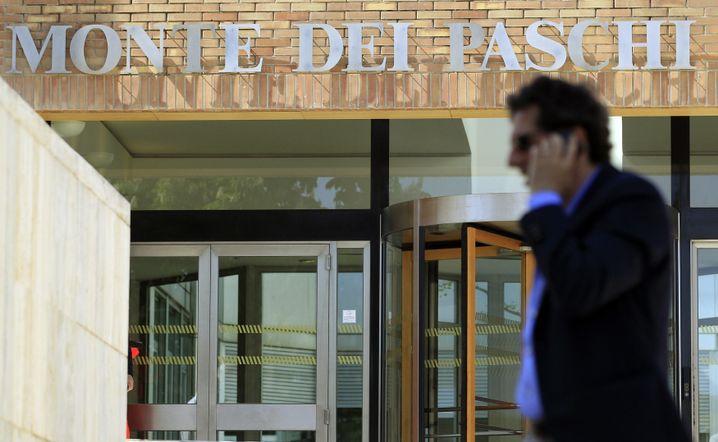 Italienische Bank Monte dei Paschi in Siena: Bis Ende Juni muss frisches Kapital her