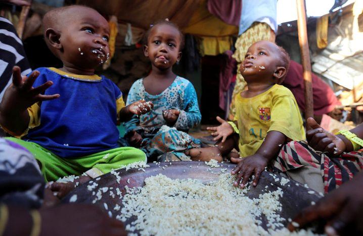 Kinder in Somalia