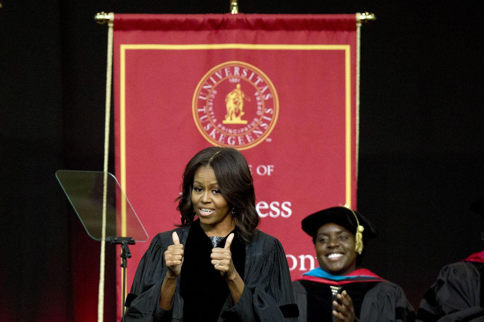 Michelle Obama Tuskegee