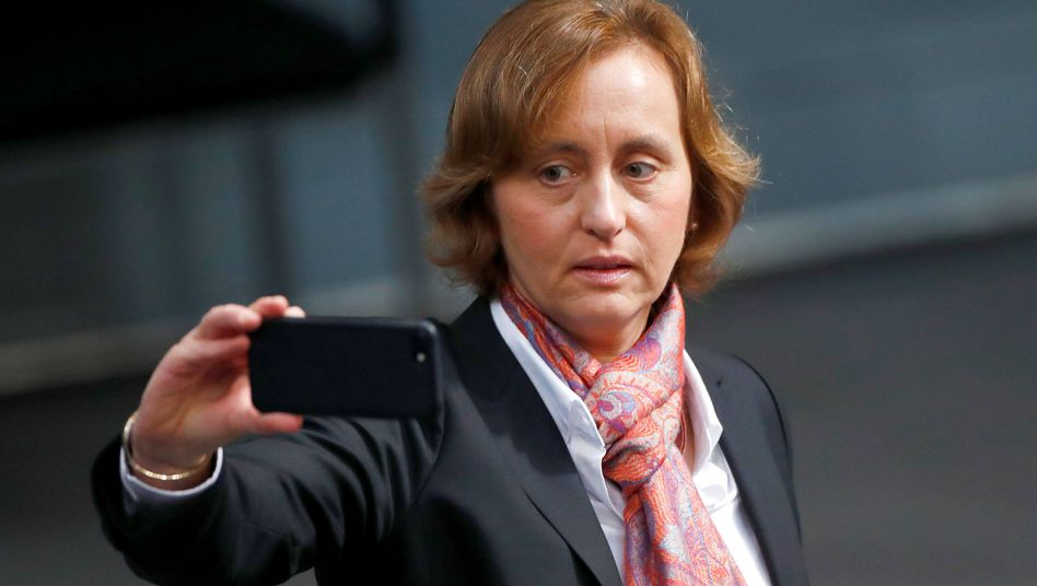Beatrix von Storch of the right-wing populist Alternative for Germany party