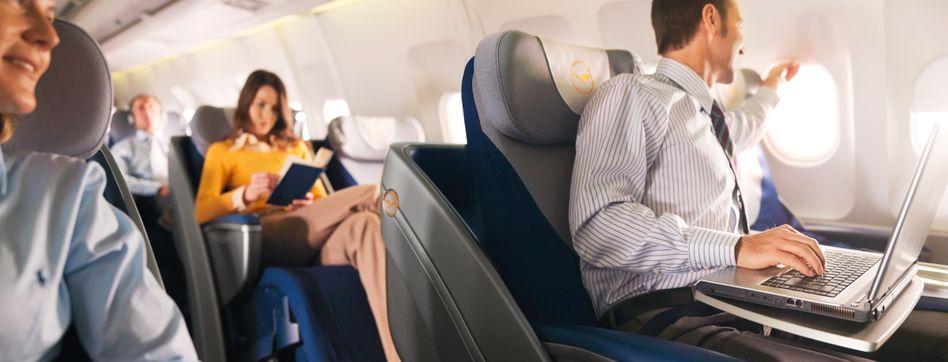 Mit dem Laptop auf Flugreisen