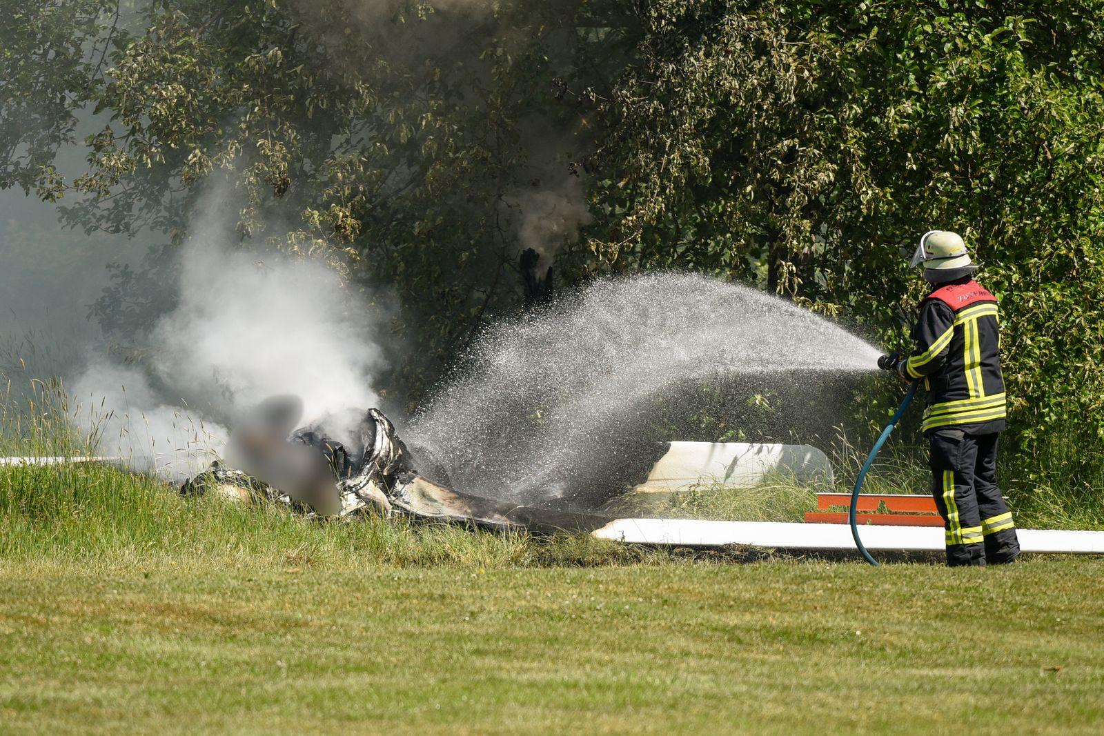 Pilot bei Absturz von Segelflieger tödlich verletzt