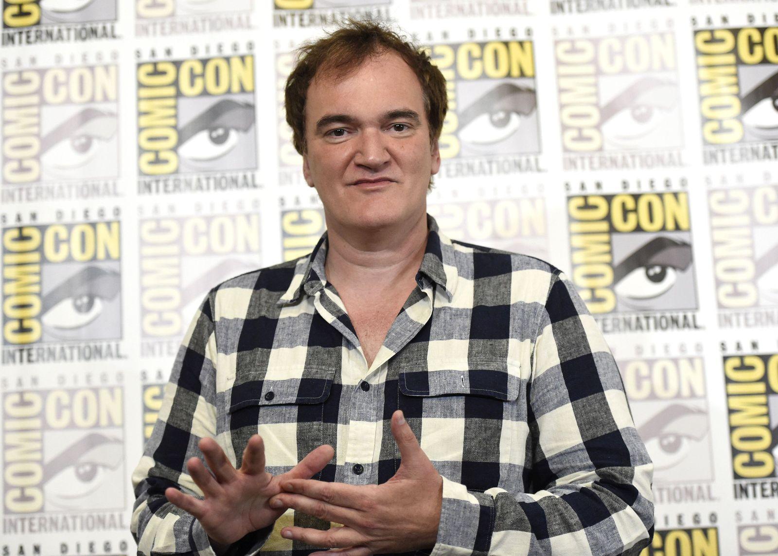 Comic-Con/ Quentin Tarantino