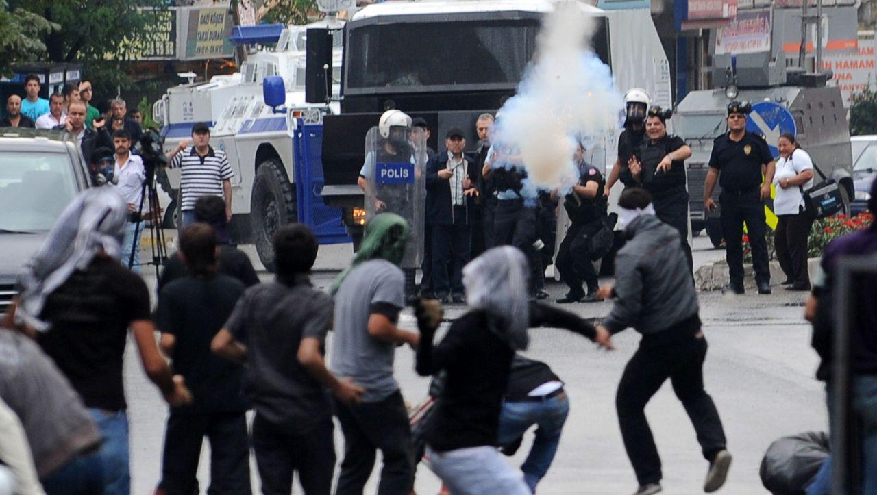 Ausschreitungen Türkei