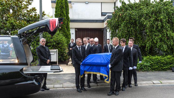 Abschied von Helmut Kohl: Der Tag in Bildern