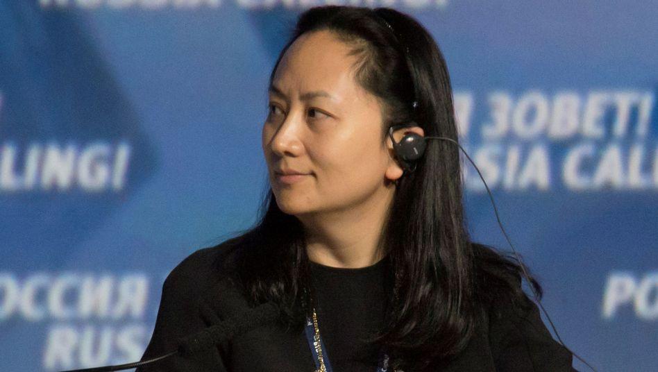 Huaweis Finanzchefin Meng Wanzhou