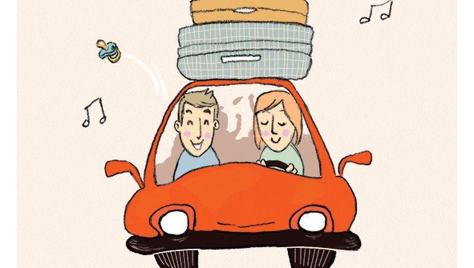 Nicht für jeden ein Vergnügen: Autofahren mit der Familie