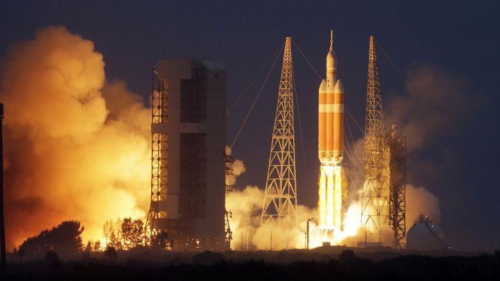 """Nasa-Raumschiff: Mit """"Orion"""" zurück zum Mond"""