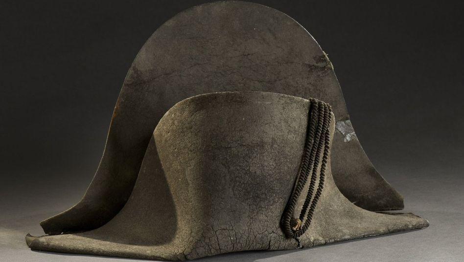 Zweispitz, den Napoleon Bonaparte in der Schlacht von Waterloo getragen haben soll