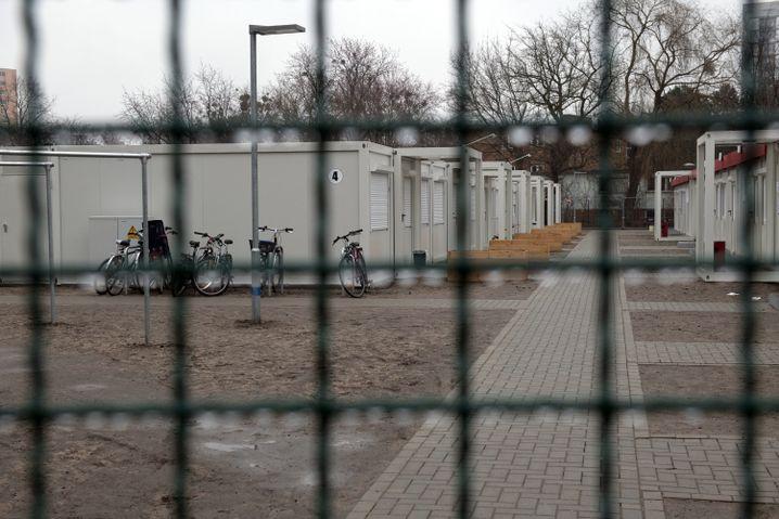 Wohncontainer für Flüchtlinge in Berlin