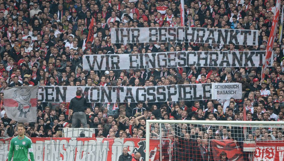 Fan-Protest beim VfB Stuttgart