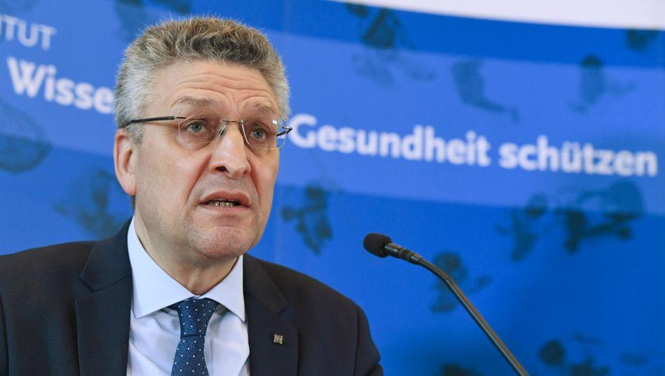 Lothar Wieler, Präsident des Robert Koch-Instituts